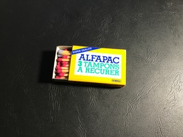 Boite D'allumettes ALFAPAC 3 Tampons à Récurer - Boites D'allumettes - Etiquettes