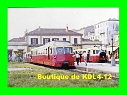 AL 463 - Autorails Renault ABH Et Billard En Gare - AJACCIO - Corse Du Sud - CFC - Ajaccio