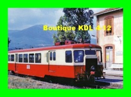 AL 464 - Autorail Billard X 113 En Gare - BIGUGLIA - Haute Corse - CFC - Frankreich