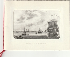 Carte à Volets 1962 - Société De Travaux Et Industries Maritimes Dunkerque 59 - Vue Sur Le Port En 1662 - Nouvel An