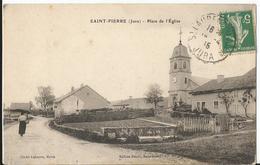 CPA - 39 - Saint Pierre - Place De L'église - France