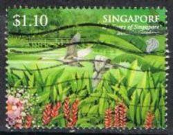 Singapore 2009 Botanical Garden $1.10 Type 2 Good/fine Used [15/14422/ND] - Singapore (1959-...)