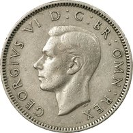 Monnaie, Grande-Bretagne, George VI, Shilling, 1948, TB+, Copper-nickel, KM:863 - 1902-1971 : Monnaies Post-Victoriennes
