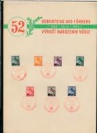 Böhmen &Mähren Propaganda Blatt    (bg 2493  ) Siehe Scan - Boemia E Moravia