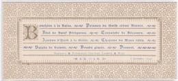 MENU - DEJEUNER Du 8 Décembre 1896 - Menus