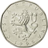 Monnaie, République Tchèque, 2 Koruny, 1995, TTB, Nickel Plated Steel, KM:9 - Tchéquie