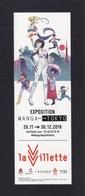 Marque Page.   Exposition Manga - Tokyo 2018. - Bladwijzers