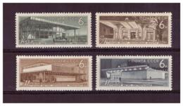 URSS652) 1965-Metrpolitana Mosca -Unificato 3036-39 Serie Cpl. 4 Val.MNH** - Nuovi
