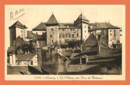 A721 / 411 74 - ANNECY Château Des Ducs De Nemours ( Vignette Timbre ) - Annecy