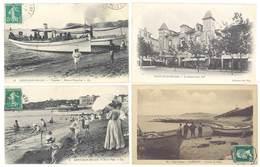 4 CPA  Saint Jean De Luz (3 Cpa) & Guétary ( 1 Cpa) - Plage, Bateaux, Pêche ...   ( S 3112 ) - Saint Jean De Luz