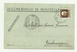 ZUCCHERIFICIO DI MOLINELLA AGOSTO 1932 FP - Bologna