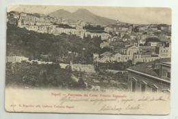 NAPOLI - PANORAMA DAL CORSO VITTORIO EMANUELE - VIAGGIATA FP - Napoli