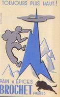 : « Pain D'épices BROCHET Frères » - Buvards, Protège-cahiers Illustrés