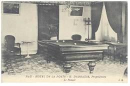 CPA  Pau - Hôtel De La Poste - Le Fumoir ( Billard )...   ( S 3113 ) - Pau