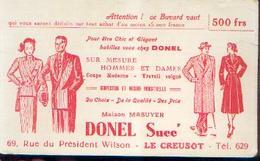 LE CREUSOT « Maison Masuyer – Succursale DONEL » - Buvards, Protège-cahiers Illustrés