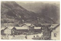 CPA  Cauterets - Gare Du Chemin De Fer ....   ( S 3117 ) - Cauterets