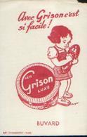 « Pâtes GRISON Luxe» - Buvards, Protège-cahiers Illustrés