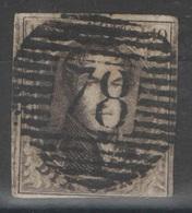 Belgique - YT 6 Oblitéré 78 Malines - 1851-1857 Medallions (6/8)