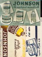 « Cires JOHNSON» - Lot De 3 Buvards Différents - Buvards, Protège-cahiers Illustrés