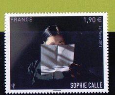 France 2018.Sophie Calle.** - France