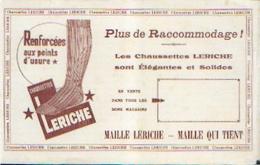 « Chaussettes LERICHE» - Buvards, Protège-cahiers Illustrés