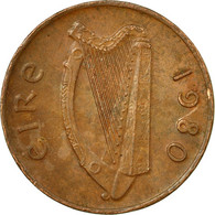Monnaie, IRELAND REPUBLIC, Penny, 1980, TB, Bronze, KM:20 - Irlande
