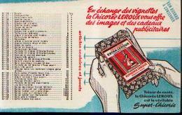 « Chicorée LEROUX» - Buvards, Protège-cahiers Illustrés