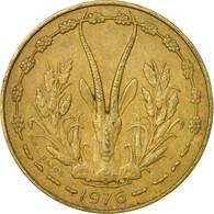 Monnaie, West African States, 10 Francs, 1976, Paris, TB+ - Côte-d'Ivoire