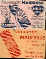 CAMBRAI « Chicorée MAIRESSE» - Lot De 2 Buvards Différents - Buvards, Protège-cahiers Illustrés