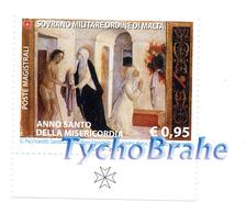 Set HOLY YEAR Of MERCY 2015 JUBILEE Stamps SMOM MNH Série ANNÉE SAINTE MISÉRICORDE JUBILÉ Timbres Sovereign Order Malta - Malte (Ordre De)