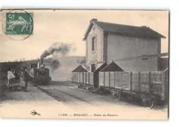 CPA 58 Brassy La Gare De Razou Et Le Train Tramway - Frankreich