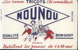 PARIS « Les Beaux Tricots NOUNOU» - Buvards, Protège-cahiers Illustrés