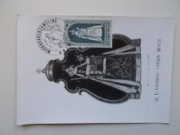 Kerstzegel 1967 O. L. Vrouw VIRGA JESSE ,Madonnaverzameling 11-11-1967 - 1961-1970