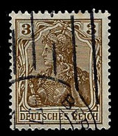 Germany 1905-1919, Scott , Germania, Deutsches Reich 81, Wmk 125, Used, NH - Germany