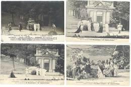4 CPA Cauterets - Théâtre De La Nature - Médée, Corneille  ...   ( S 3124 ) - Cauterets
