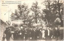 """Dépt 78 - LE MESNIL-LE-ROI - Carrières-sous-Bois Après L'inauguration Du Stand - (""""Hommage De La Société De Tir"""") - Autres Communes"""