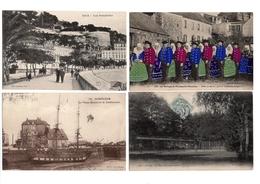 LOT  DE 108 CARTES  POSTALES  ANCIENNES  DIVERS  FRANCE  N59 - Postcards