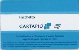 CARTA CARTAPIU' LA7 (NON ATTIVA) (A11.1 - Altre Collezioni