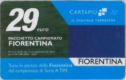 CARTA CARTAPIU' LA7 29 E. FIORENTINA (NON ATTIVA) (A11.3 - Altre Collezioni