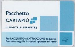 CARTA CARTAPIU' LA7 (NON ATTIVA) (A12.5 - Altre Collezioni