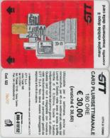 CARTA PARCHEGGI TORINO ATM E.30 (A13.7 - Tickets - Entradas