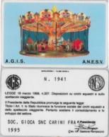 TESSERA AGIS ANESV CIRCHI EQUESTRI (A15.5 - Altre Collezioni
