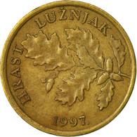 Monnaie, Croatie, 5 Lipa, 1997, TB+, Brass Plated Steel, KM:5 - Croatie