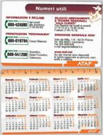 CALENDARIO ATAF  FIRENZE (A18.6 - Calendari