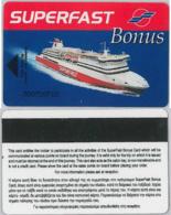 CARTA MOTONAVE SUPERFAST BONUS (A21.3 - Altre Collezioni