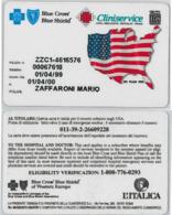 CARTA ASSISTENZA MEDICA USA (A21.4 - Altri