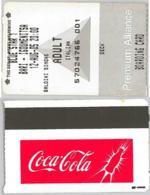 BIGLIETTO PASSAGGIO NAVE COCA-COLA (A22.6 - Boat Ticket