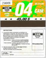 ABBONAMENTO MONTREAL CANADA 4/97 (A22.7 - Abonos