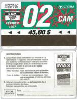 ABBONAMENTO MONTREAL CANADA 2/97 (A22.8 - Abbonamenti