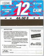 ABBONAMENTO MONTREAL CANADA 12/96 (A23.2 - Abbonamenti